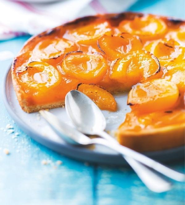 Tarte aux abricots surgelés - Les pâtisseries