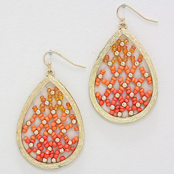 Rella Earrings in Sunset Ombre