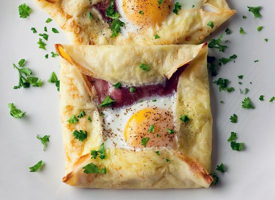 Ham and egg crepe squares http://huff.to/Sj7JlH