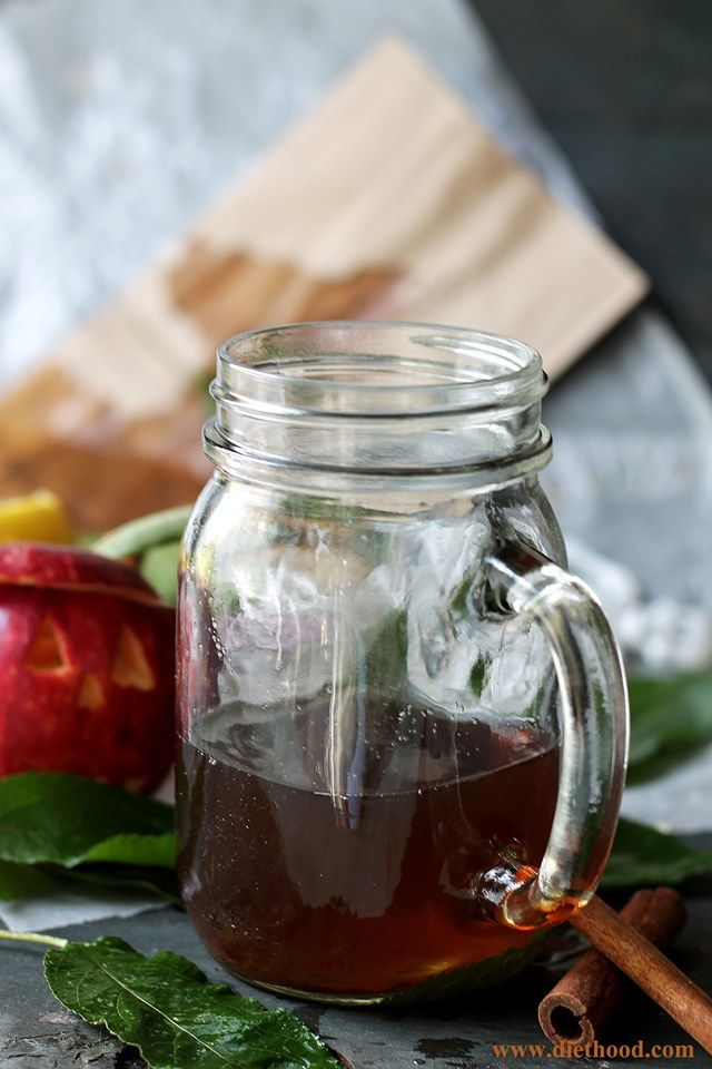 Spiked Apple Cider | www.diethood.com