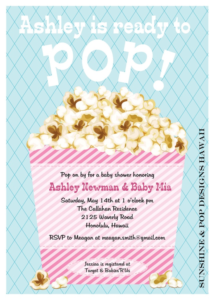 baby shower invite ready to pop baby shower invitation printable