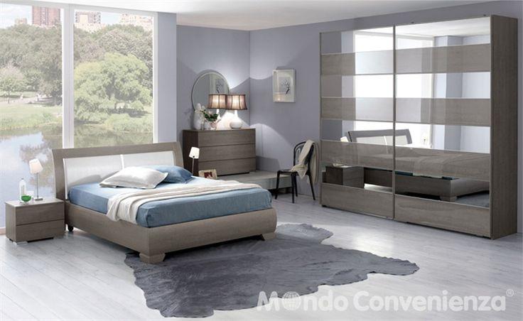 Camera da letto Orizzonte - Armadio 2 antoni - Moderno ...