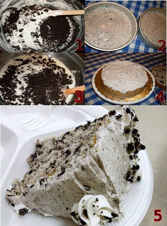 Oreo cookie cake | Sweet Tooth | Pinterest
