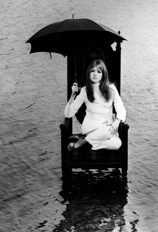 Jane Asher photographed by John D. Green, 1967.