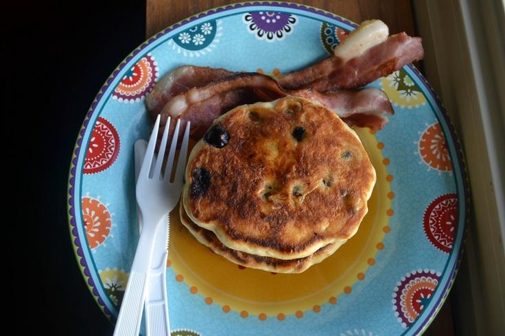 Easy Blueberry Pancakes | Recipes | Pinterest