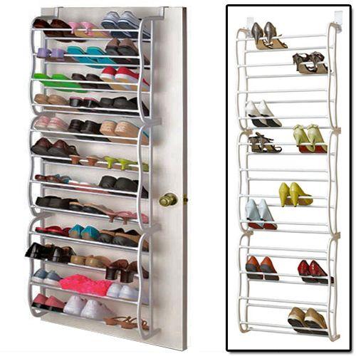 36 Pair Over The Door Shoe Rack | click here to buy