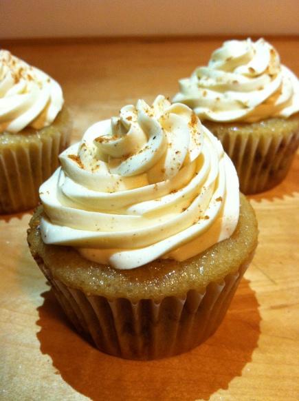 vegan snickerdoodle cupcakes! | foods | Pinterest
