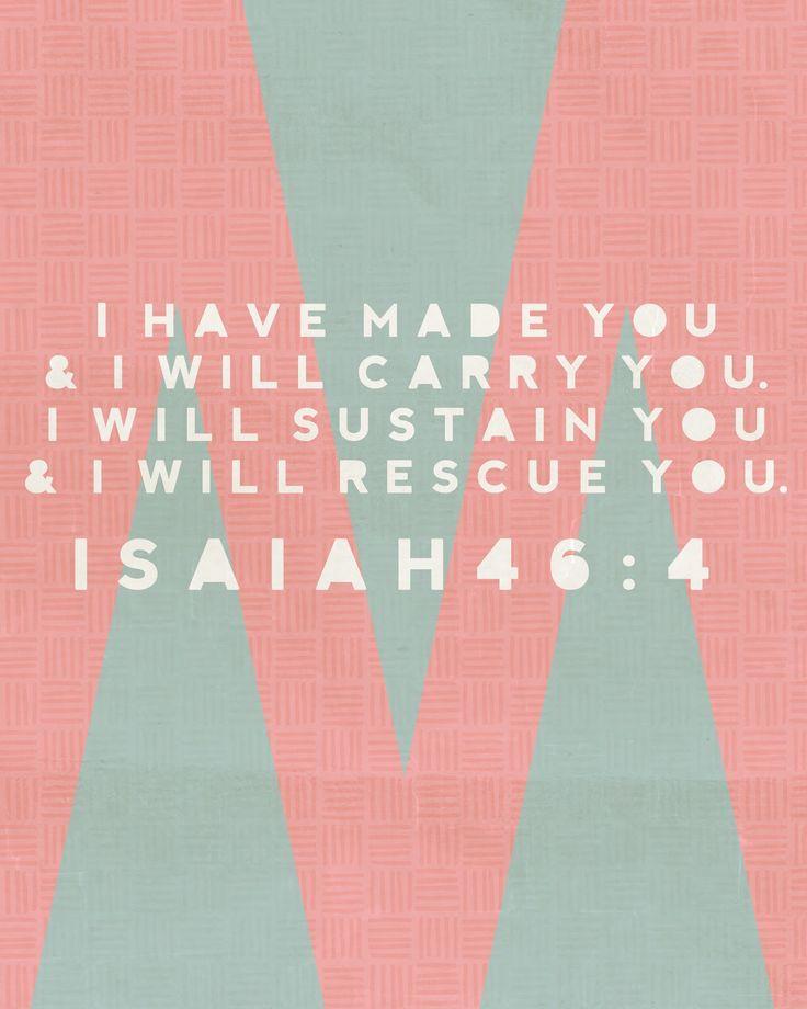 Isaiah 46:4 - Truth