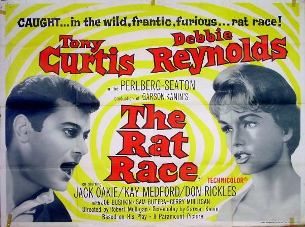 Liked this movie a lot the rat race with tony curtis and debbie