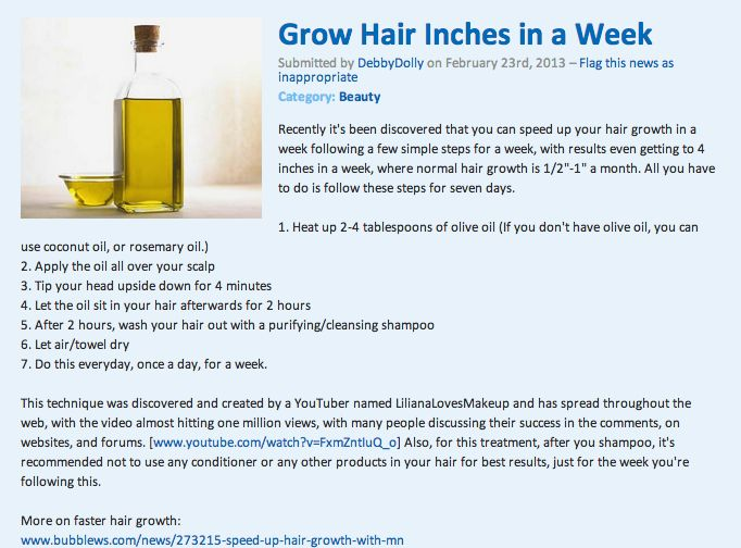 How To Make Your Hair Grow Faster Natural