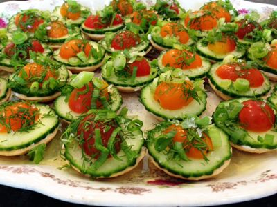 Savory Summer Vegetable Tarts---A perfectly simple, beautiful and ...