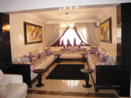 salon marocain Salons Marocains - Moroccan living room Pinterest