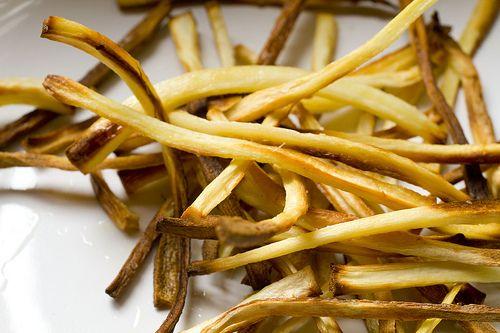 Roasted Parsnip Fries | Fodder | Pinterest