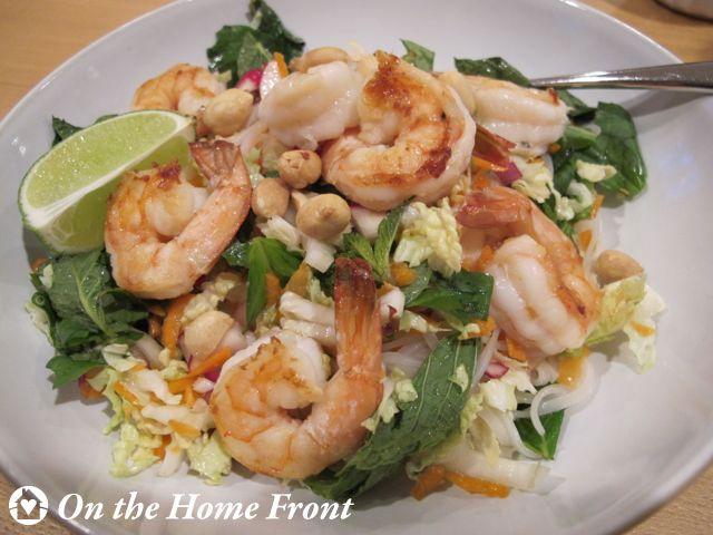 Rice Noodle Salad with Shrimp
