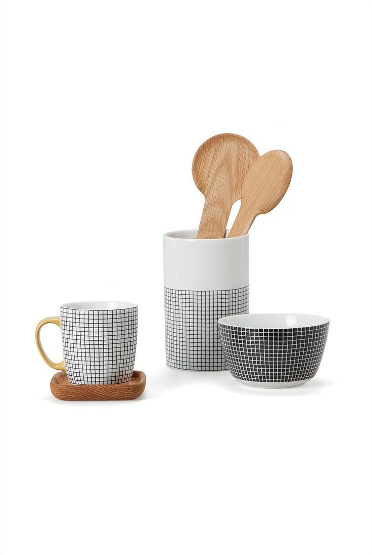 Country Road - Dinner Sets, Crockery & Dinnerware Online - Bistro Tile Mug