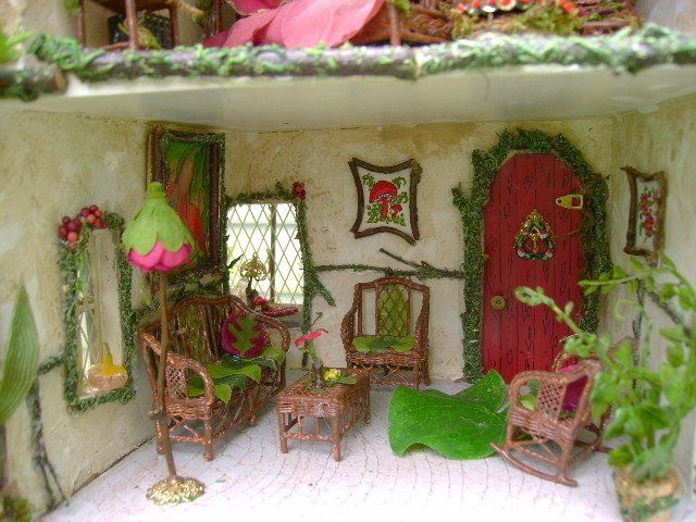 Inside A Fairy House Blythes Amp Co Pinterest