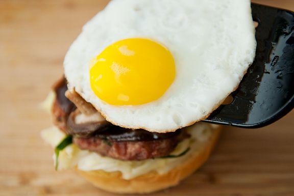 mushu pork burger recipe | use real butter