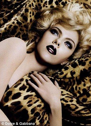 Agatha O | Scarlett Johansson for Dolce & Gabanna