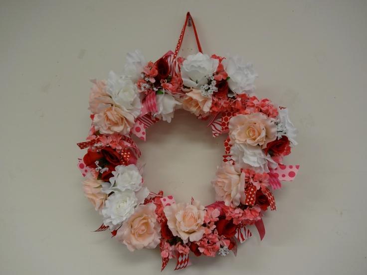 valentine's day wreaths diy