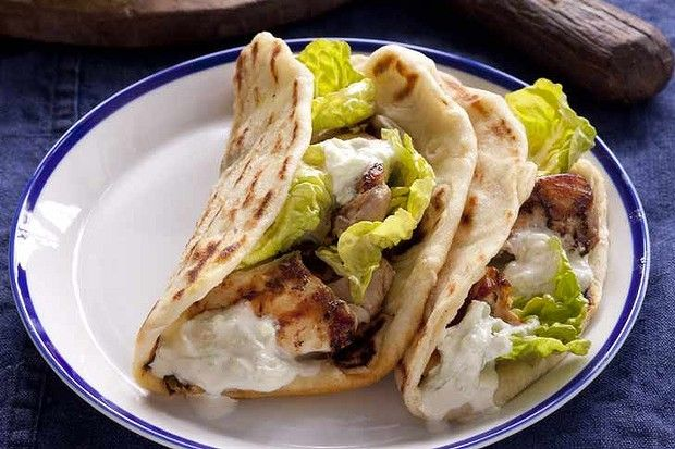 Chicken souvlaki. | Greek and Cypriot Food | Pinterest
