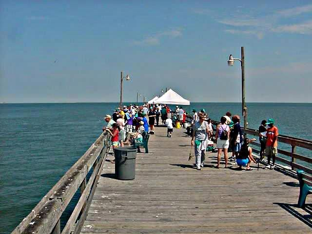 Children 39 s fishing day charity event lynnhaven fishing for Lynnhaven fishing pier