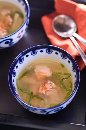 Salmon Noodle Soup | Love People. Cook Them Good Food. | Pinterest