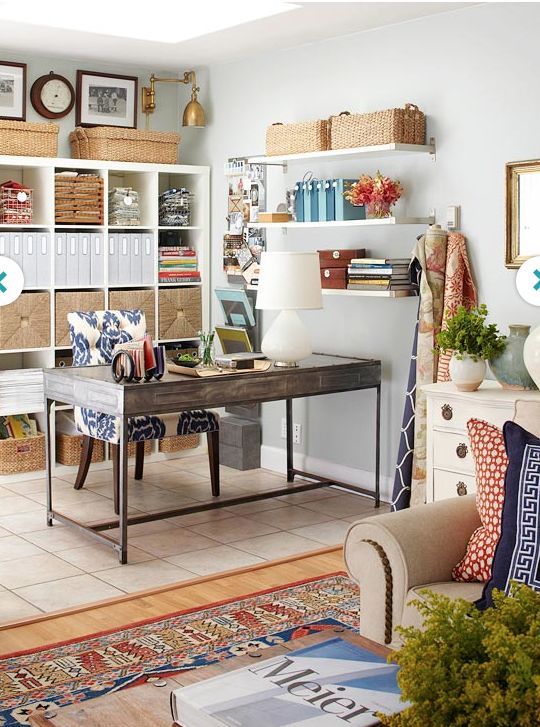 Home Office Home Decor Ideas Pinterest
