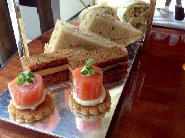 Tea sandwich | COFFEE OR TEA TIME | Pinterest