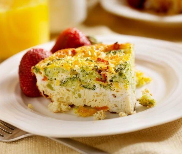 Broccoli Frittata | Diabetes Reicpes | Pinterest