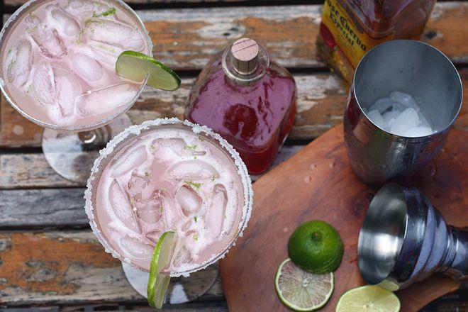 Rhubarbaritas | Beverage | Pinterest