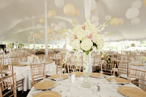 beautiful pole tent inside