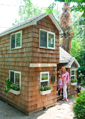 Two Story Cape Cod Inspired Playhouse Home Is Where The