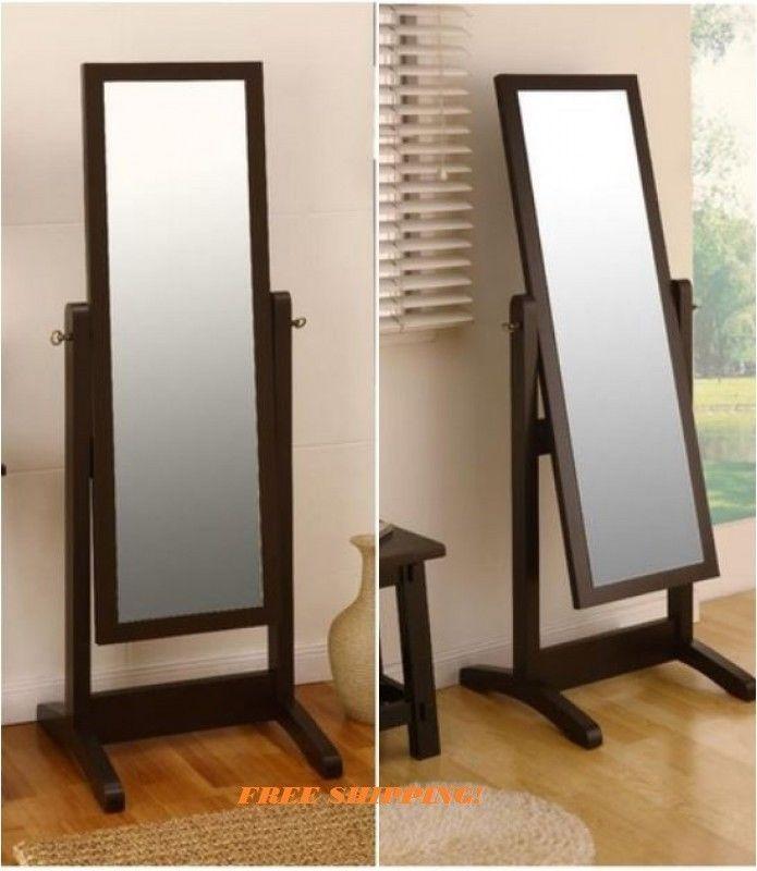 Tilting dressing mirror full length bedroom floor for Full length bedroom mirror
