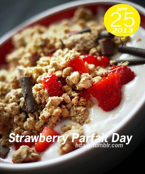 Strawberry Parfaits For Mama's Day Recipe — Dishmaps