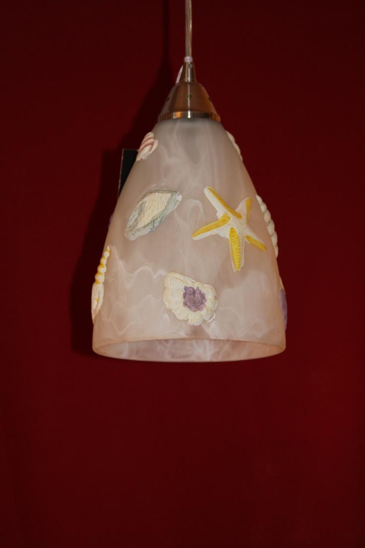 seashell pendant light pendant lighting pinterest