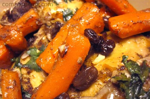 Spiced Chicken Stew With Carrots- Sub the garlic & cumin (too acid ...