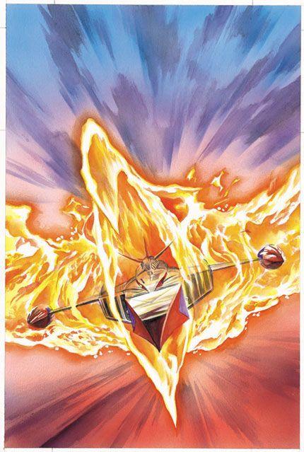 battle of the planets fiery phoenix -#main