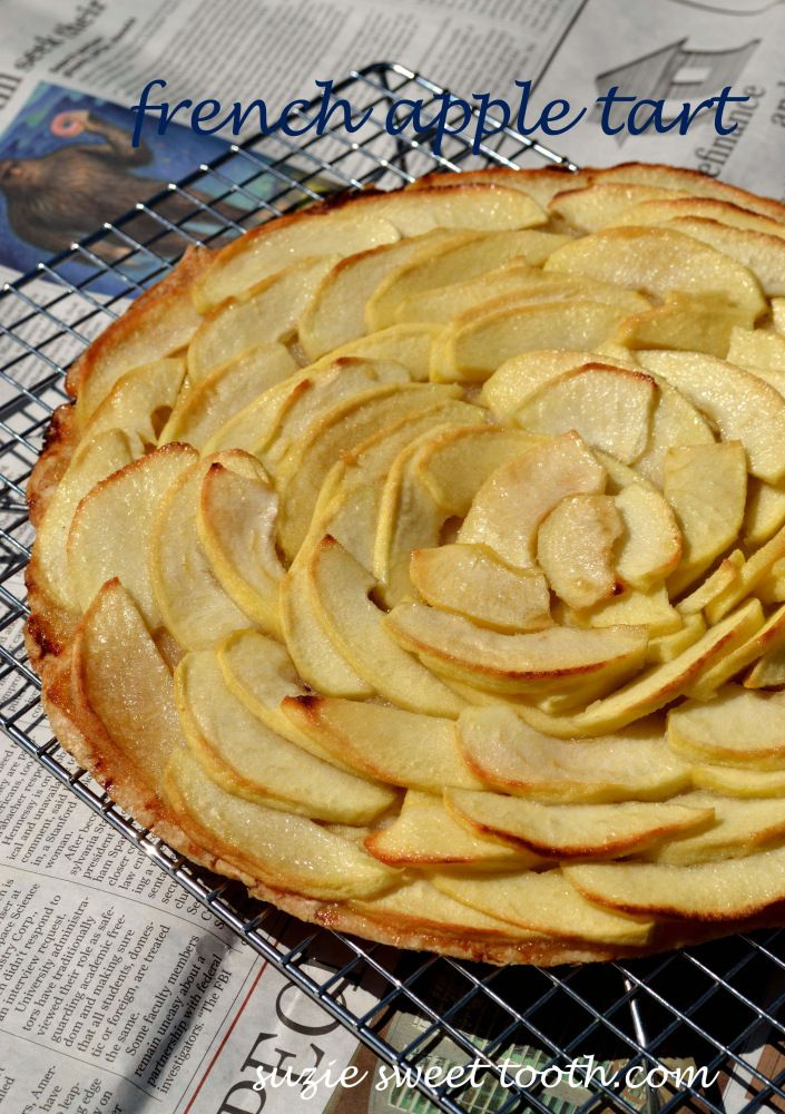 French Apple Tart | Food | Pinterest