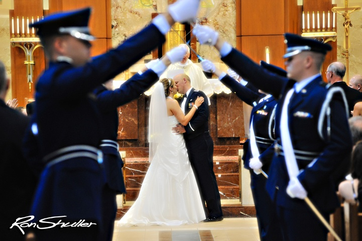 A military tradition . . . Ron Shuller's Creative Images Photography - www.weddingsandmore.com