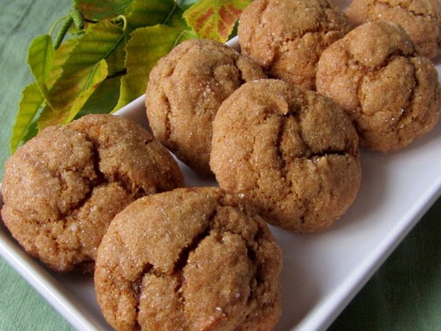 Pumpkin Molasses Cookies | It's What's For Dinner! | Pinterest