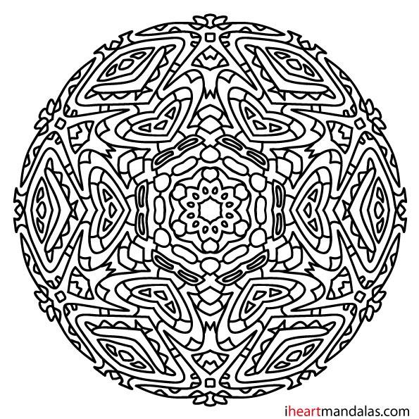 Mandala 19 | Free mandala designs to print