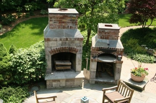 Fireplace Pizza Oven Outdoor Living Pinterest