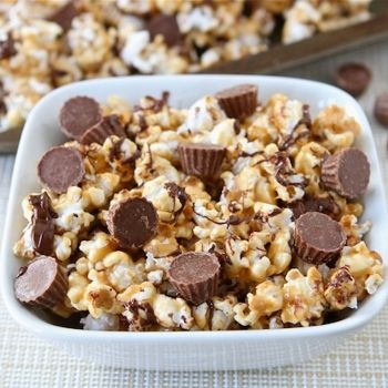 Reese's Peanut Butter Cup Popcorn Recipe - ZipList
