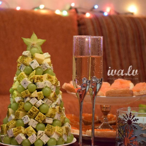 Christmas tree appetizer christmas trees diy pinterest - Christmas tree shaped appetizers ...
