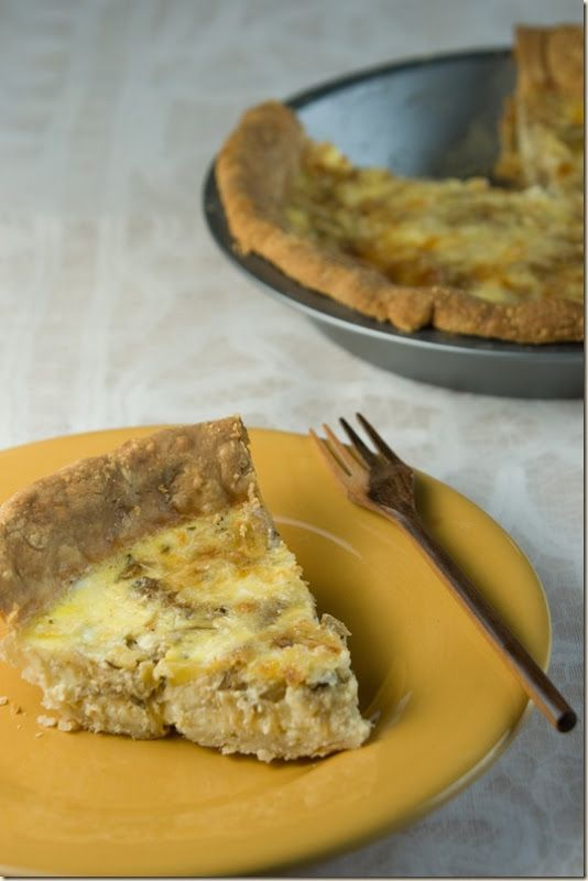caramelized onion quiche | Recipes to Try | Pinterest