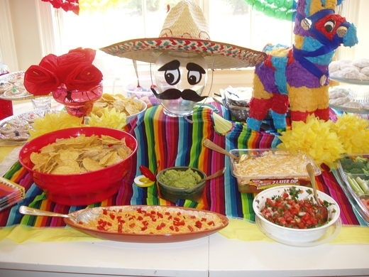 Cinco de mayo party party ideas pinterest for 5 de mayo party decoration