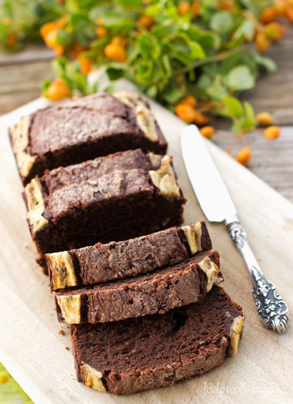 Banana Chocolate Bread recipe made two ways. Super delicious without ...