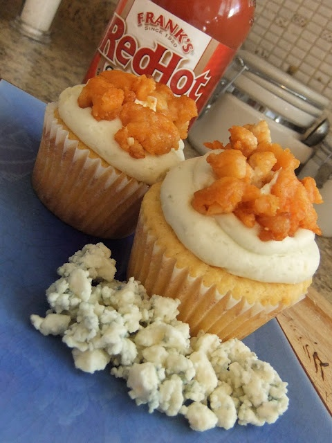 Buffalo Chicken Cupcakes | Cupcakes | Pinterest