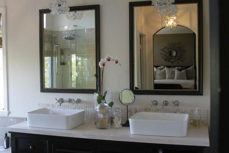 His and Her bathroom sinks. Bathroom Pinterest