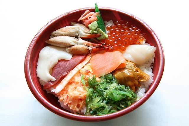 Mitsuwa Sushi Bowl | Food | Pinterest